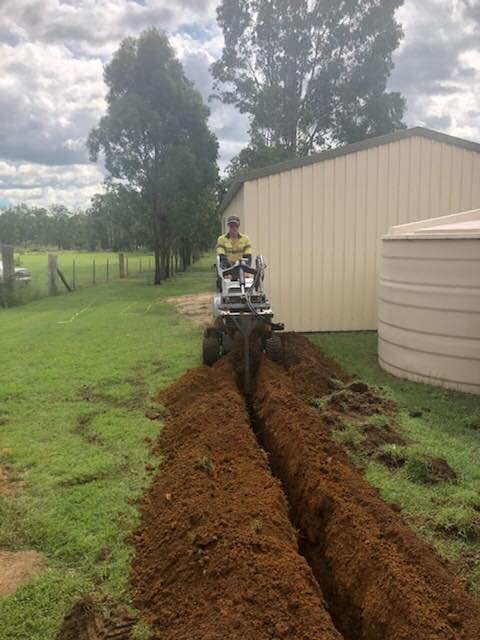 Shed Wiring And Trenching Work