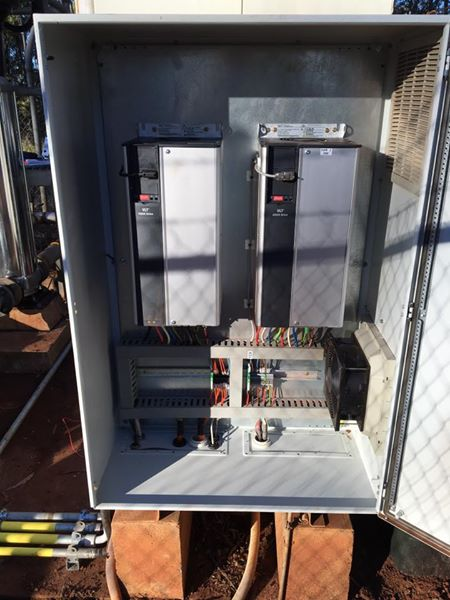 Pump station Variable Speed Drive Upgrade