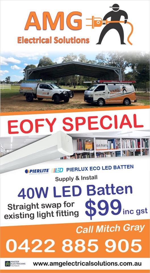 EOFY Sale – Call 0422885905