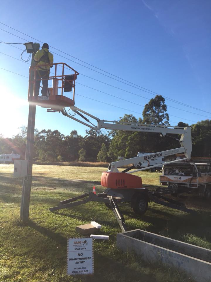 Floodlight Installations By the AMG