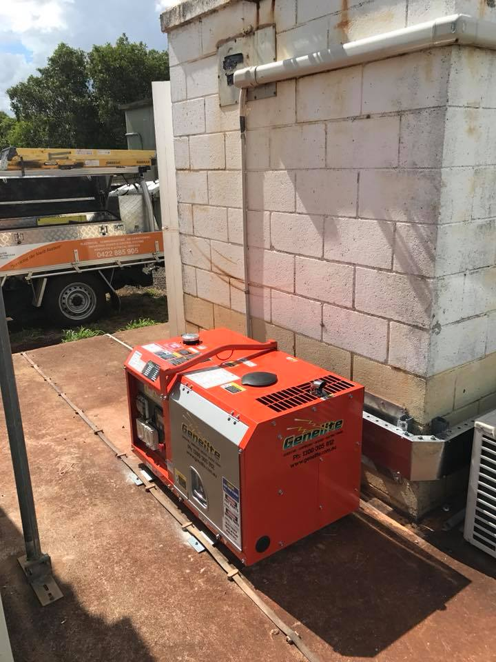 Generator with Automatic Transfer Switch