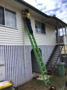 Installing A Replacement AC In Yarraman