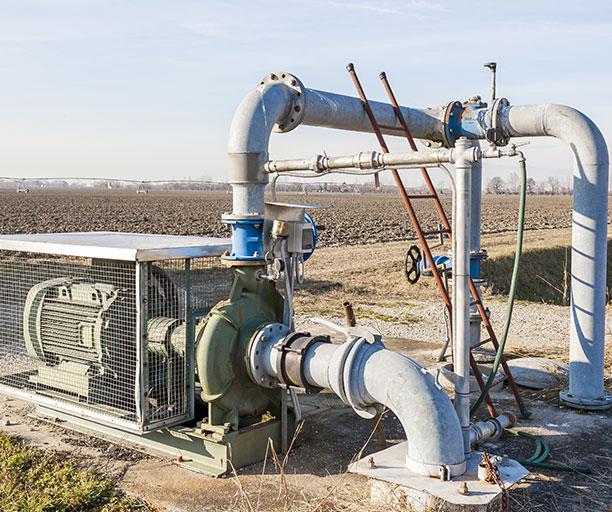 Irrigation amg
