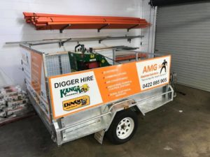 Kanga Loaders Trailer