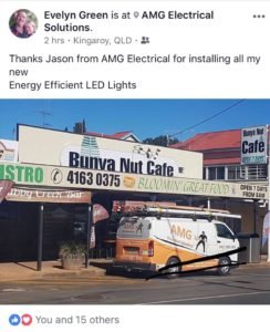 LED Special Shout Out from Bunya Nut Cafe