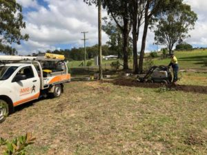 Power Pole and Underground Cabling Installation