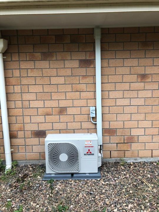 Recent Air Conditioning Installation in Wondai